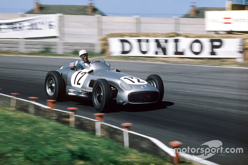 Stirling Moss, Mercedes Benz W196