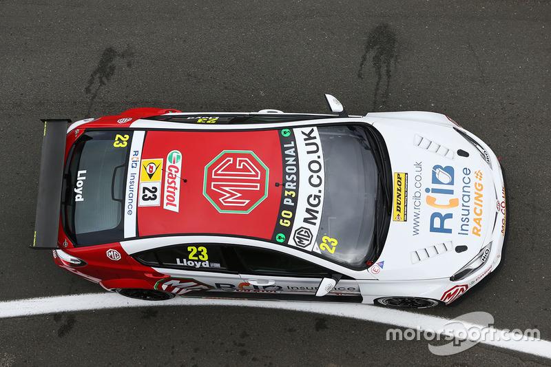 Daniel Lloyd, MG Racing RCIB Insurance