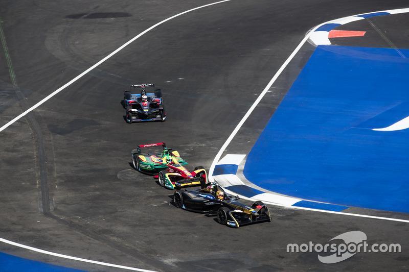 Esteban Gutiérrez, Techeetah, precede Lucas di Grassi, ABT Schaeffler Audi Sport