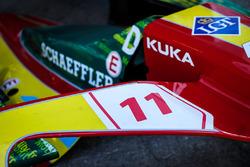 Voiture de Lucas di Grassi, ABT Schaeffler Audi Sport