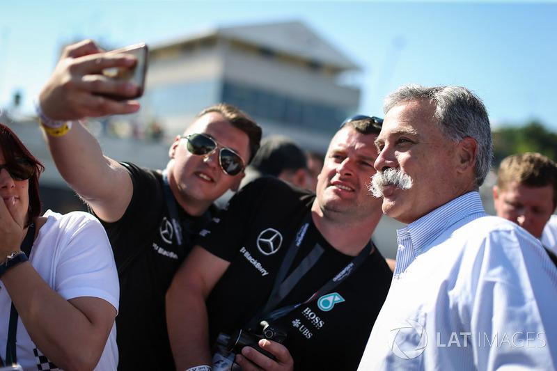 Chase Carey, CEO y Presidente de la Formula One Group
