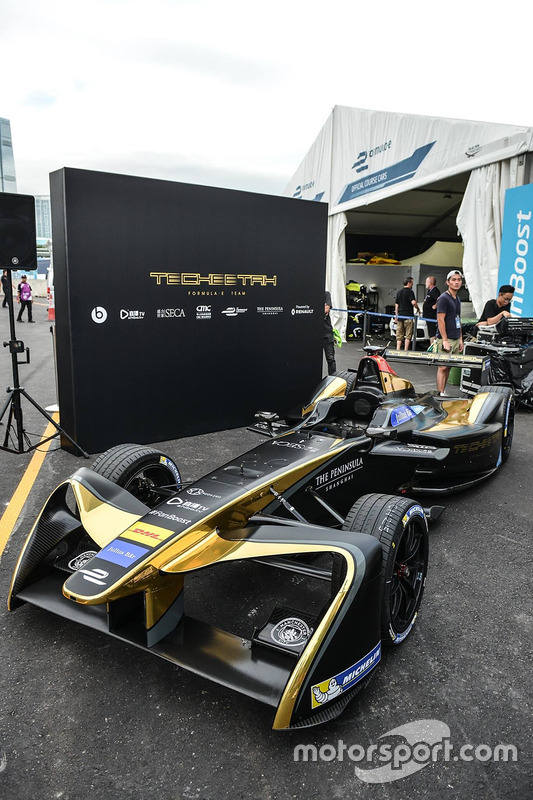 TECHEETAH Formula E Team presentation