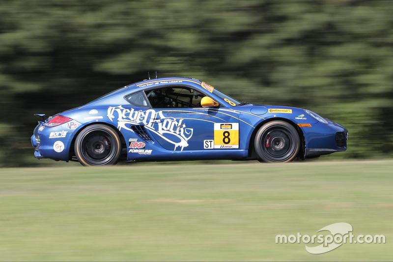 #8 Rebel Rock Racing Porsche Cayman: Robin Liddell, Theo Bean