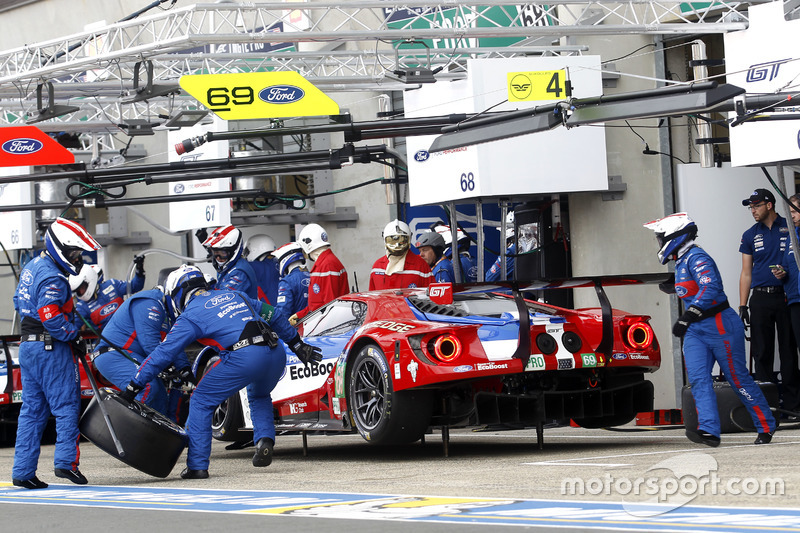#69 Ford Chip Ganassi Racing Ford GT: Ryan Briscoe, Richard Westbrook, Scott Dixon