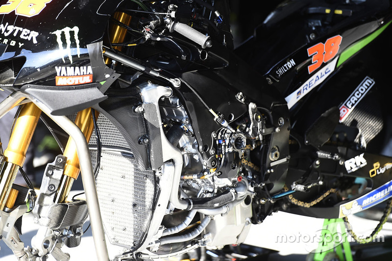 تفاصيل دراجة برادلي سميث، تيك 3 ياماها