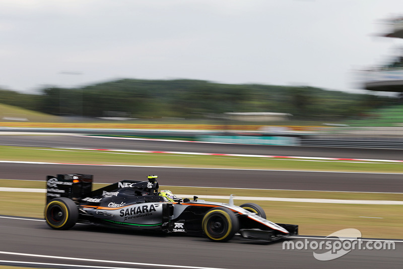 7. Sergio Perez, Sahara Force India F1 VJM09