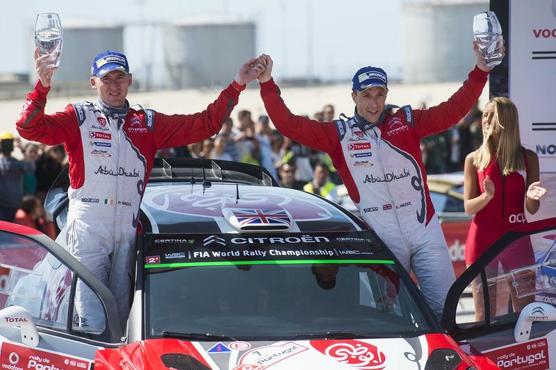 Ganadores Kris Meeke, Paul Nagle, Citroën DS3 WRC, Citroën World Rally Team