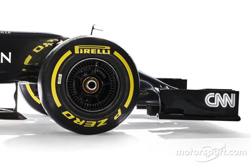 McLaren MP4-31 detail
