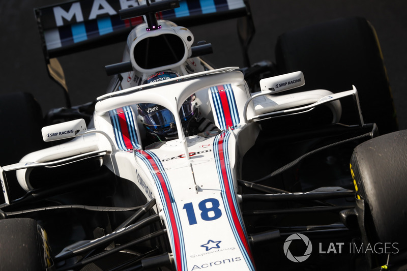 16. Lance Stroll, Williams FW41