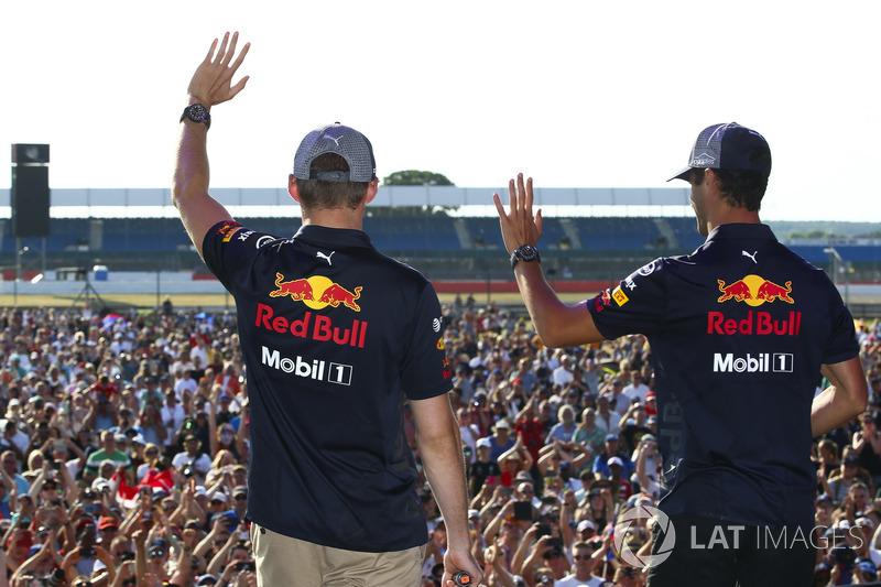 Max Verstappen and Daniel Ricciardo, Red Bull Racing