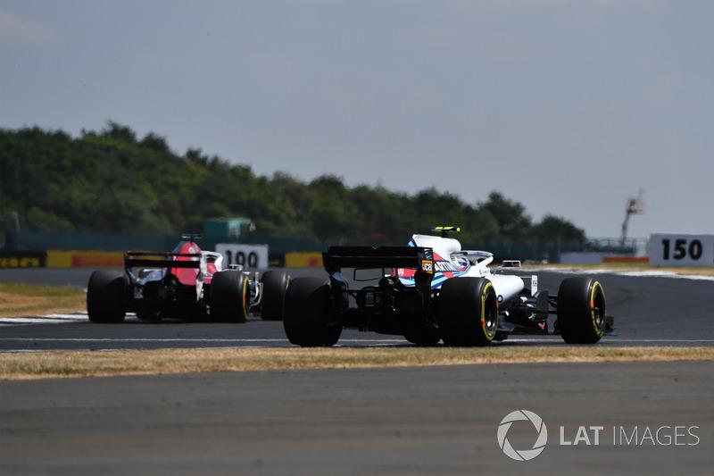 Sergey Sirotkin, Williams FW41 sort large