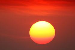 Sonnenuntergang in Bahrain