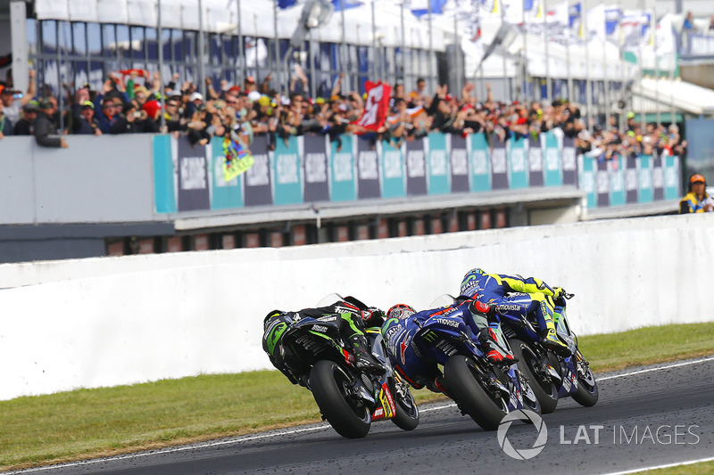 Valentino Rossi, Yamaha Factory Racing, Maverick Viñales, Yamaha Factory Racing, Johann Zarco, Monster Yamaha Tech 3
