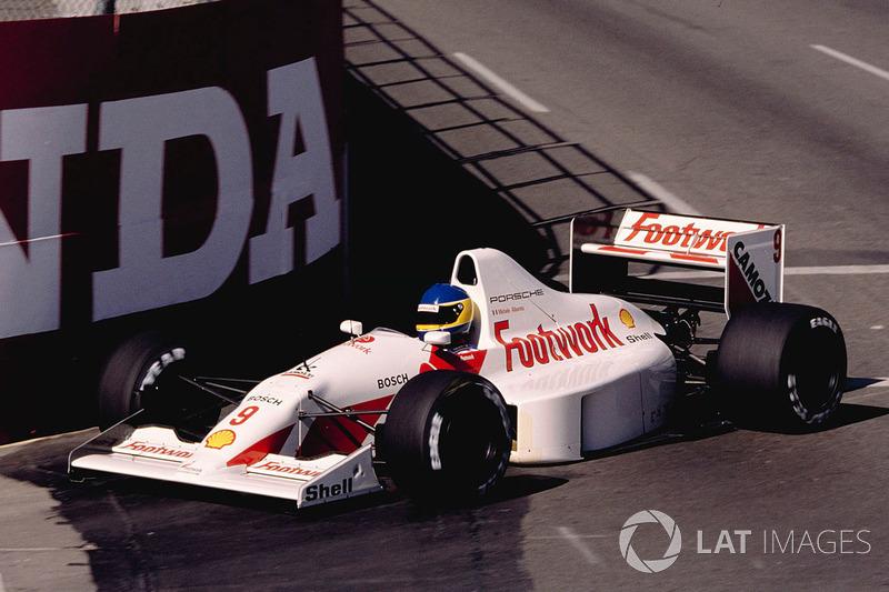 Michele Alboreto, Footwork A11C Porsche