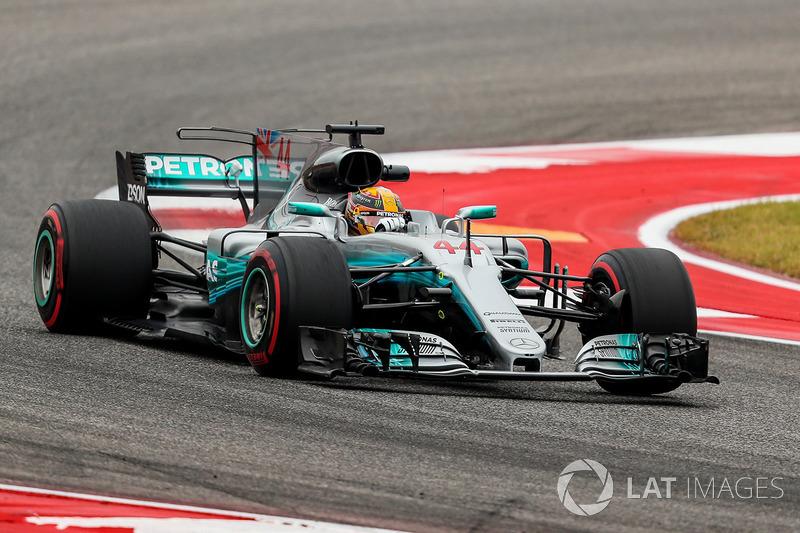 1. Lewis Hamilton, Mercedes AMG F1 W08