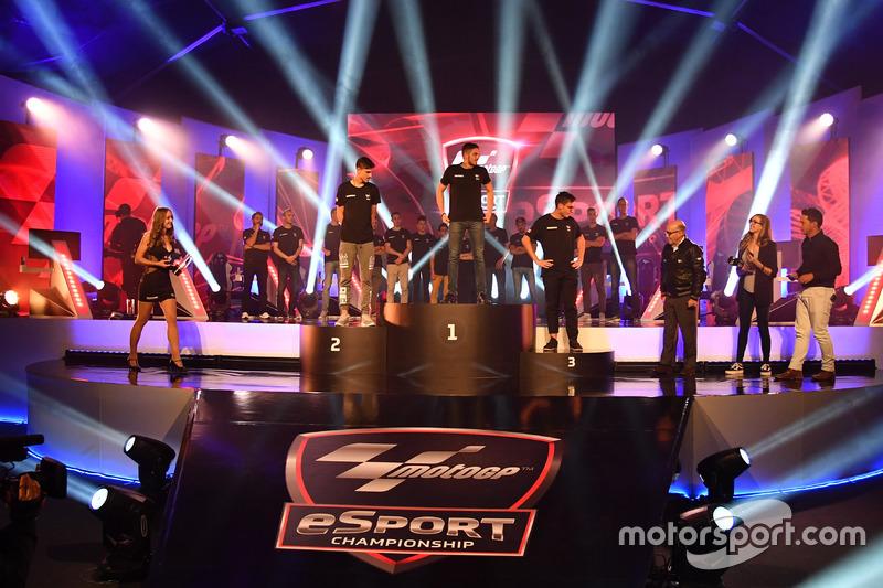 Atmosphere at MotoGP eSport Grand Final