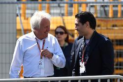 Charlie Whiting, FIA Delegate and Arif Rahimov, Baku Street Circuit Promoter