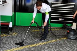 Audi nettoie son garage