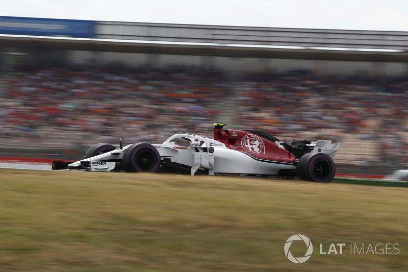 9: Шарль Леклер, Sauber C37, 1'12.717