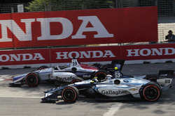 Zachary Claman De Melo, Dale Coyne Racing Honda, Max Chilton, Carlin Chevrolet