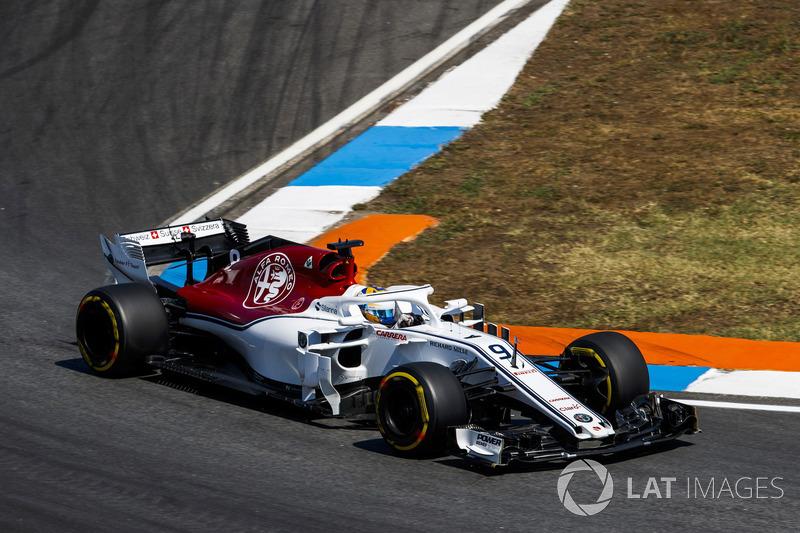 13. Marcus Ericsson, Sauber C37