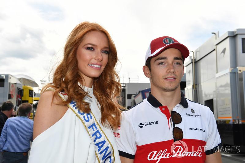 Гран При Франции: модель и «Мисс Франция» Маэва Кук