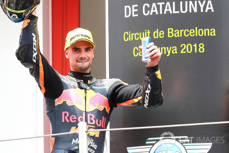 Podio: Miguel Oliveira, Red Bull KTM Ajo
