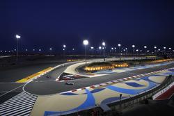Lewis Hamilton, Mercedes W05, leads Nico Rosberg, Mercedes W05, and Felipe Massa, Williams FW36
