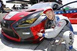 Ganador de la pole #15 3GT Racing Lexus RCF GT3, GTD: Jack Hawksworth