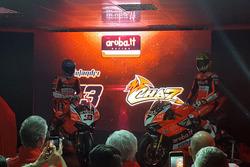 Marco Melandri, Chaz Davies, Ducati Team