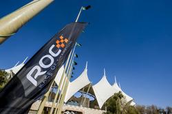 ROC branding outside the stadium