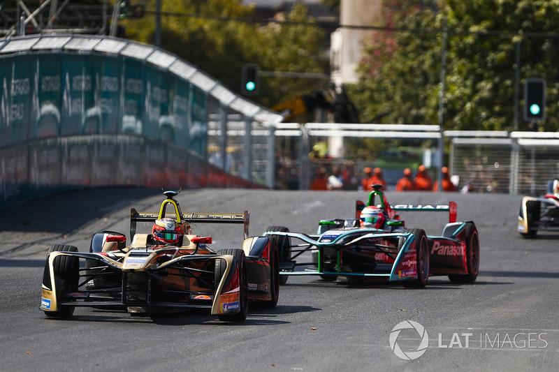 Jean-Eric Vergne, Techeetah, Nelson Piquet Jr., Jaguar Racing