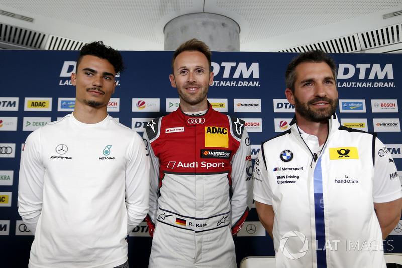 Прес-конференція Паскаля Верляйна, Mercedes-AMG Team HWA, Рене Раста, Audi Sport Team Rosberg, Ti