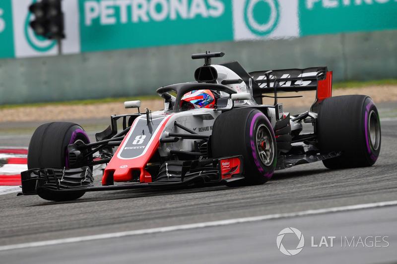 19. Romain Grosjean, Haas F1 Team VF-18