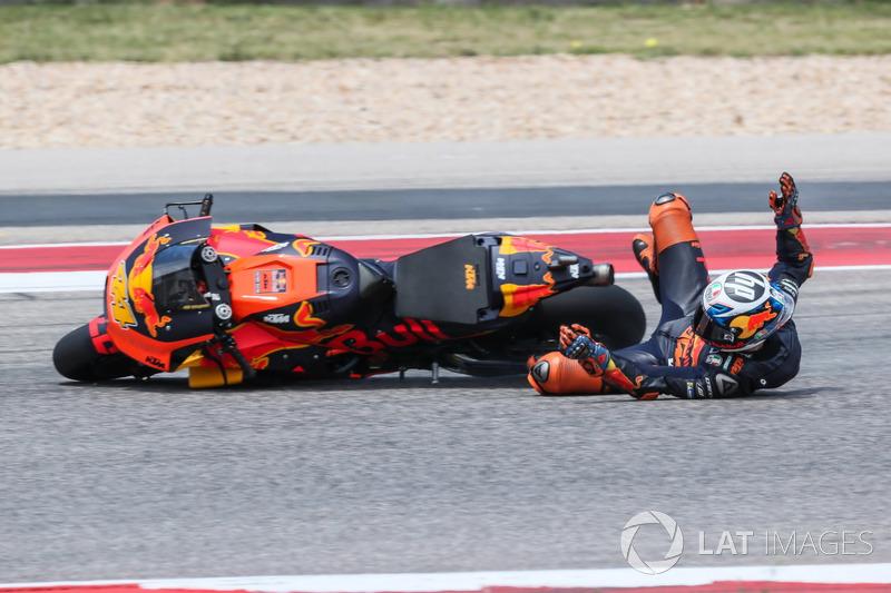 Аварія Пола Еспаргаро, Red Bull KTM Factory Racing