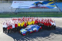 Mattias Ekström, Audi Sport Team Abt Sportsline with the team