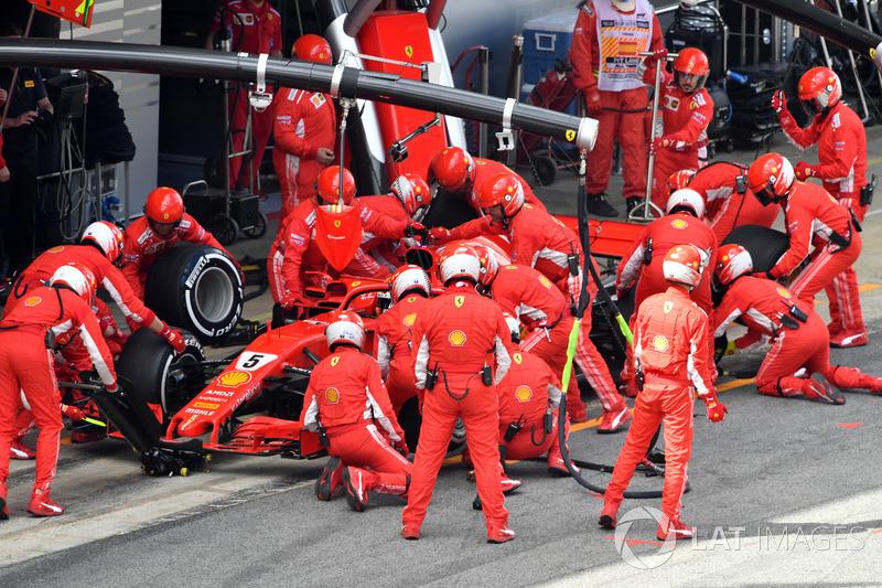 Sebastian Vettel, vierde plaats