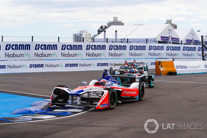 Felix Rosenqvist, Mahindra Racing, Mitch Evans, Jaguar Racing
