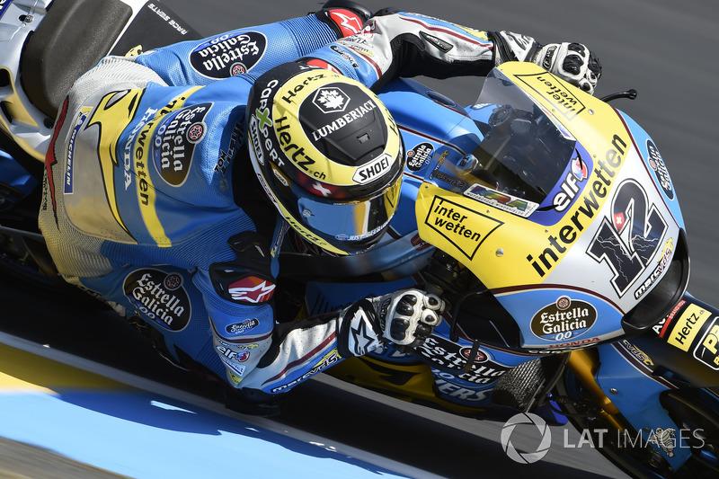 MotoGP Diaporama : Thomas Lüthi dans le Grand Prix de France