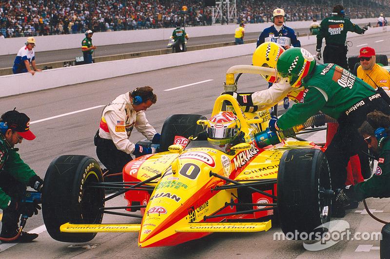 Tony Stewart op de pole