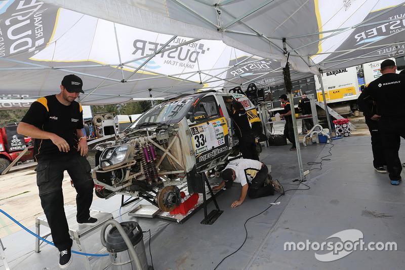 Zona de Renault Duster team