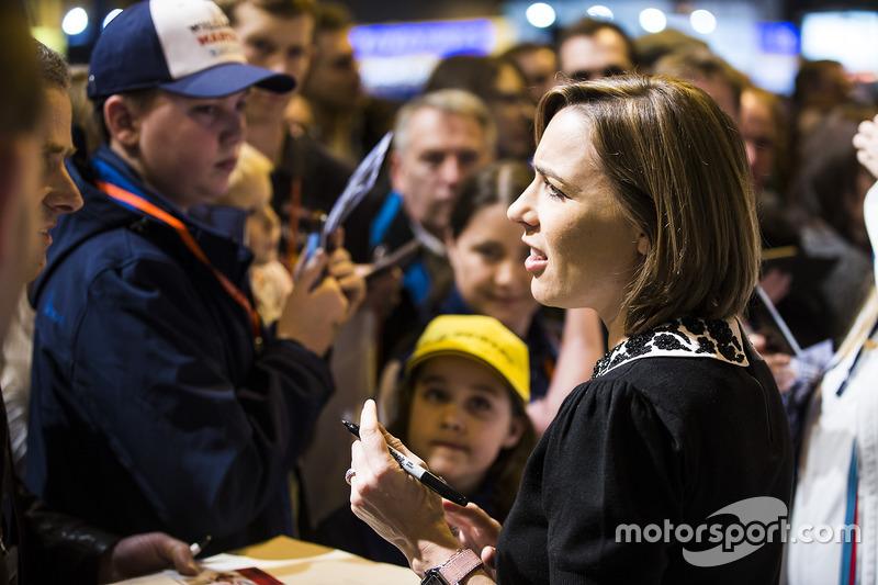 Claire Williams, Williams Martini Racing
