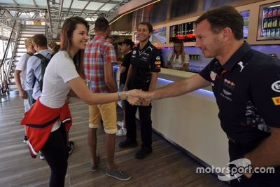 Keszthelyi Vivien a Red Bullnál vendégeskedett