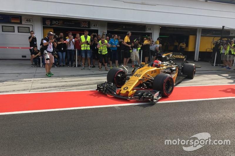 Роберт Кубіца, Renault F1 Team