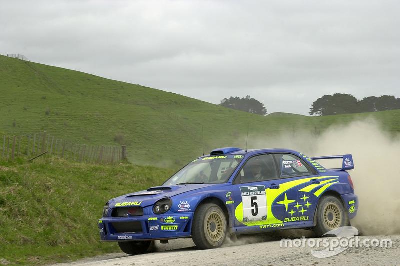 Річард Бернс, Роберт Рейд, Subaru Impreza WRC