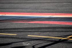 Reifenspuren in Zandvoort