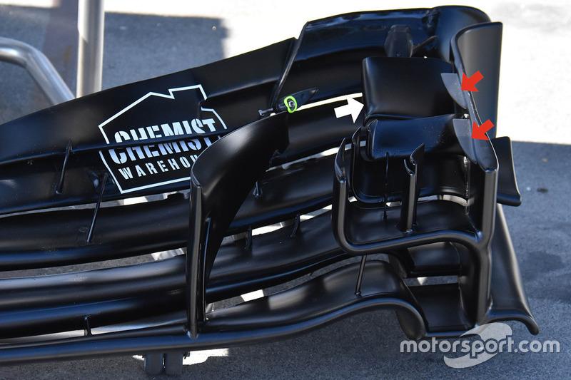 威廉姆斯FW40赛车前翼