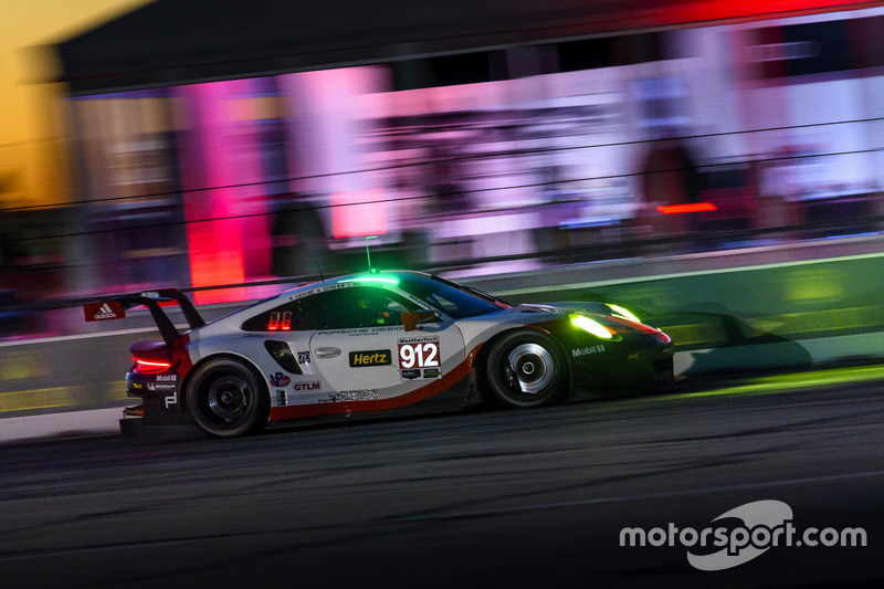5. #912 Porsche Team North America Porsche 911 RSR: Kevin Estre, Laurens Vanthoor, Richard Lietz