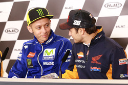 Валентино Росси, Yamaha Factory Racing, и Дани Педроса, Repsol Honda Team