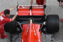 Rear wing detail of Kimi Raikkonen, Ferrari SF70H
